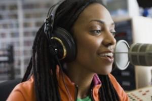 small radio announcer83402820