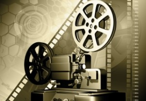 old projector101794571