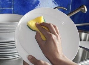 washing dishes 462241067
