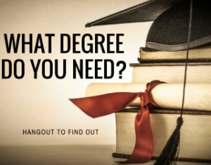 What degree do you need_